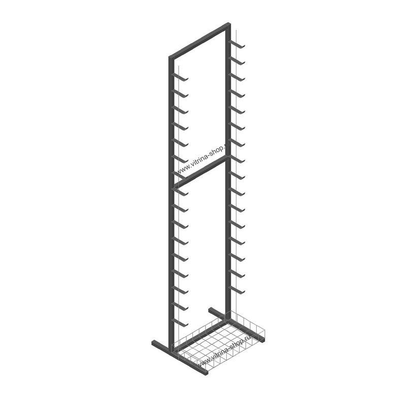 Вертикальная односторонняя (пристенная)