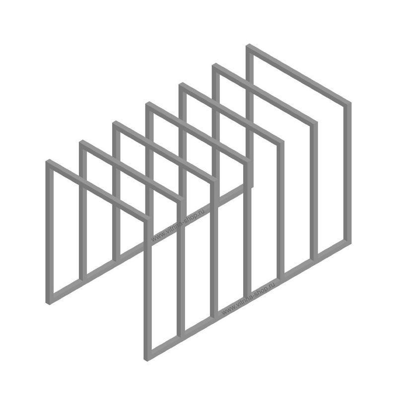 Стойка для радиаторных решеток