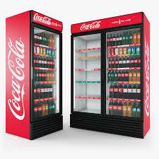 Холодильная витрина для бутылок. Торговое оборудование