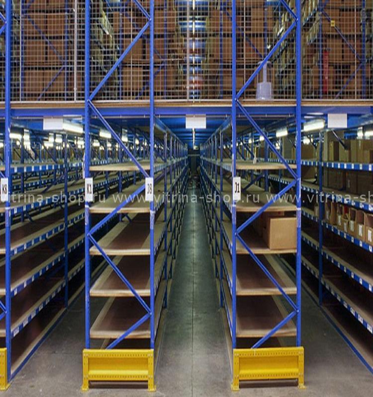 Основные виды складских стеллажей